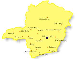 Atrações turísticas da cidade de Jaguaraçu
