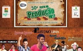 30° Festa da Produção em Presidente Olegário