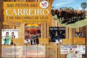 XIII Festa do Carreiro em Guapé