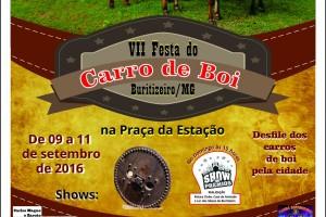 VII Festa de carro de boi em Buritizeiro