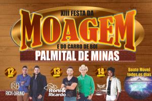 XIII Festa da Moagem e do Carro de Boi em Palmital de Minas