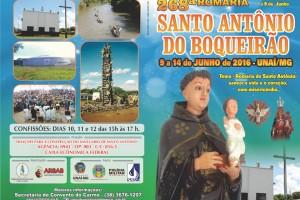269ª romaria de Santo Antônio do Boqueirão em Unaí