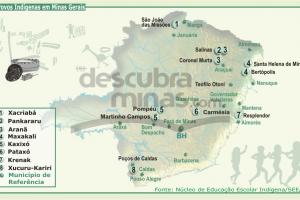 O povo indígena Aranã em Minas Gerais