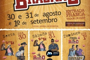 Programação cultural e Agenda de eventos de Braúnas