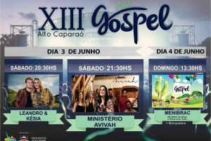 13° FEST GOSPEL em Alto Caparaó