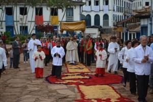 PROCISSÃO DE CORPUS CHRISTI em Paraguaçu