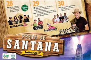 FESTA DE SANT'ANA em Santana do Paraiso