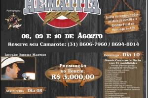 18º RODEIO E CAVALGADA DE HEMATITA em Antônio Dias