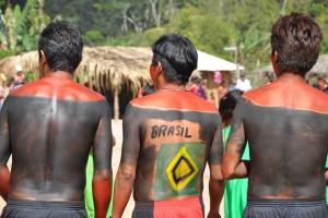 comunidade indígena Maxacali no município de Ladainha