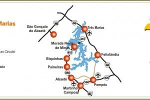 Circuito Turístico Lago Três Marias