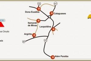 Circuito Turísticos Serras e Cachoeiras