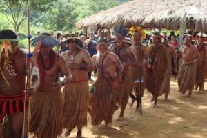 comunidade indígena Pataxó no município de Açucena