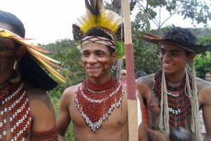 comunidade indígena Pataxó no município de Guanhães