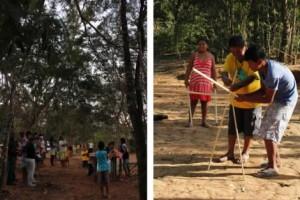 comunidade indígena Pataxó no município de Itapecerica