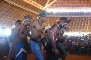 comunidade indígena Xacriabá nos municípios de Itacarambi e São João das Missões