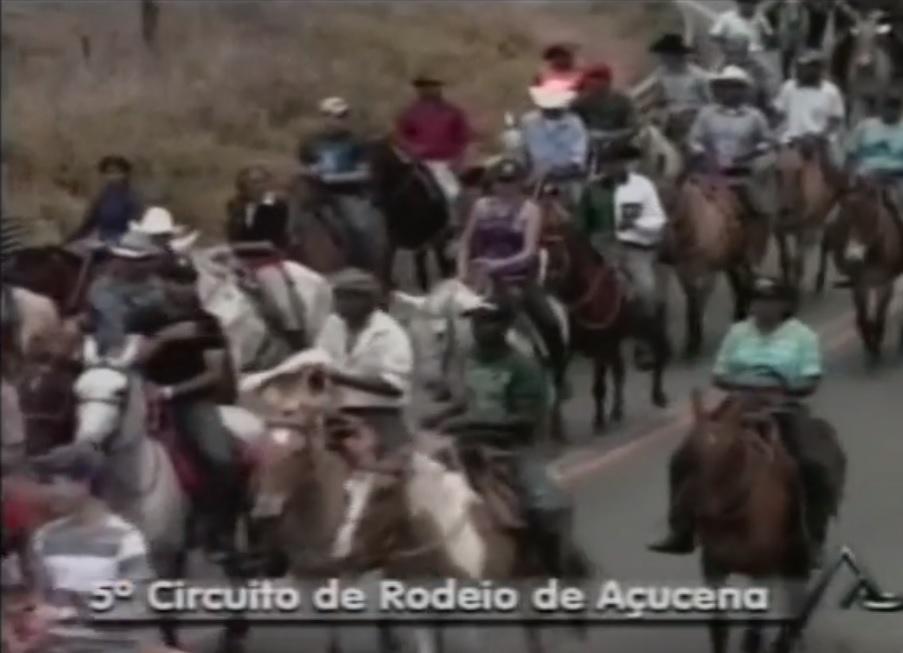 AÇUCENA CIRCUITO DE RODEIO