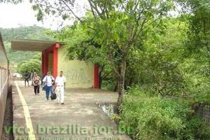 estação ferroviária em Antônio Dias