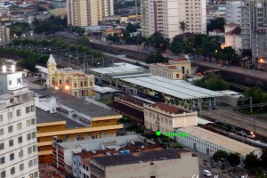 estação ferroviária Central em Belo Horizonte