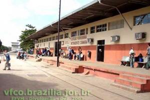 estação ferroviária Intendente Câmara em Ipatinga