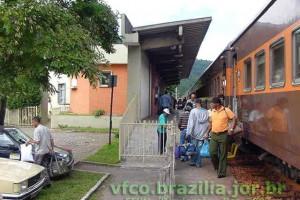 estação ferroviária em João Monlevade