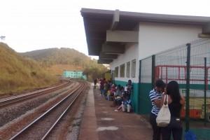 estação ferroviária em Rio Piracicaba