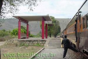 estação ferroviária São Tomé do Rio Doce em Galiléia