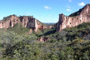 Parque Florestal da Serra das Araras no município de Chapada Gaúcha