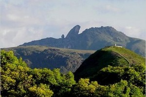 Parque Florestal do Itacolomi nos municípios de Mariana e Ouro Preto