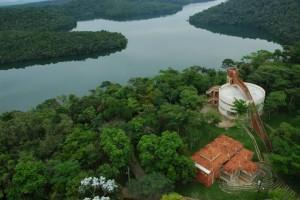 Parque Florestal do Rio Doce nos municípios de Marliéria, Dionísio e Timóteo