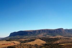Parque Nacional da Serra da Canastra no município de São Roque de Minas