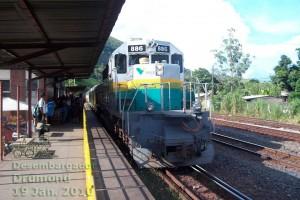 estação ferroviária Desembargador Drumond em Nova Era