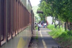 estação ferroviária Frederico Sellow em Belo Oriente