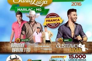 Festa da padroeira SANTA LUIZA em Marilac