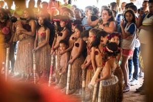 11º Ritual das águas Pataxó da Aldeia Encontro das águas em Carmésia