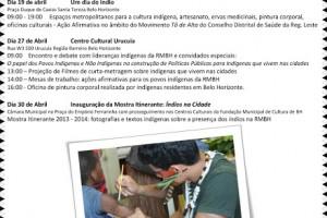 5ª Edição do Abril Indígena Metropolitano 2013 em Belo Horizonte