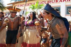 FESTA Toré – ritual sagrado – na Aldeia Xucuru Kariri em Caldas