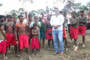 FESTA da comunidade Maxakali da Aldeia Verde em Ladainha,