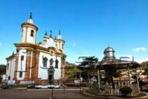 BARÃO DE COCAIS pelo Caminho Religioso tem o Santuário São João Batista