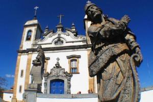 CONGONHAS pelo Caminho Religioso tem o Santuário do Bom Jesus de Matosinhos