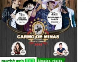 XIII CARMO DE MINAS RODEO FESTIVAL em Carmo de Minas