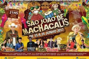 FESTA JUNINA em São João de Machacalis