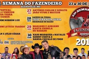 33ª SEMANA DO FAZENDEIRO de Buenópolis