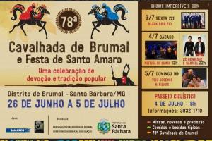 80ª CAVALHADA DE BRUMAL em Santa Bárbara
