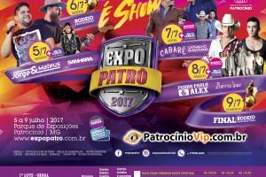 38ª EXPOPATRÔ – Exposição Agropecuária de Patrocínio