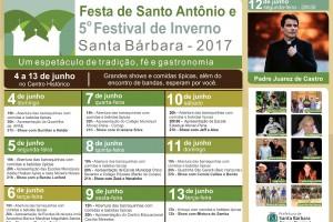 Festa de SANTO ANTÔNIO em Santa Bárbara