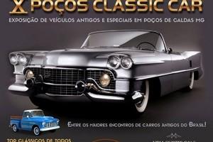 X Poços Classic Car em Poços de Caldas
