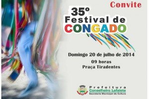 35º Festival de CONGADO de Conselheiro Lafaiete